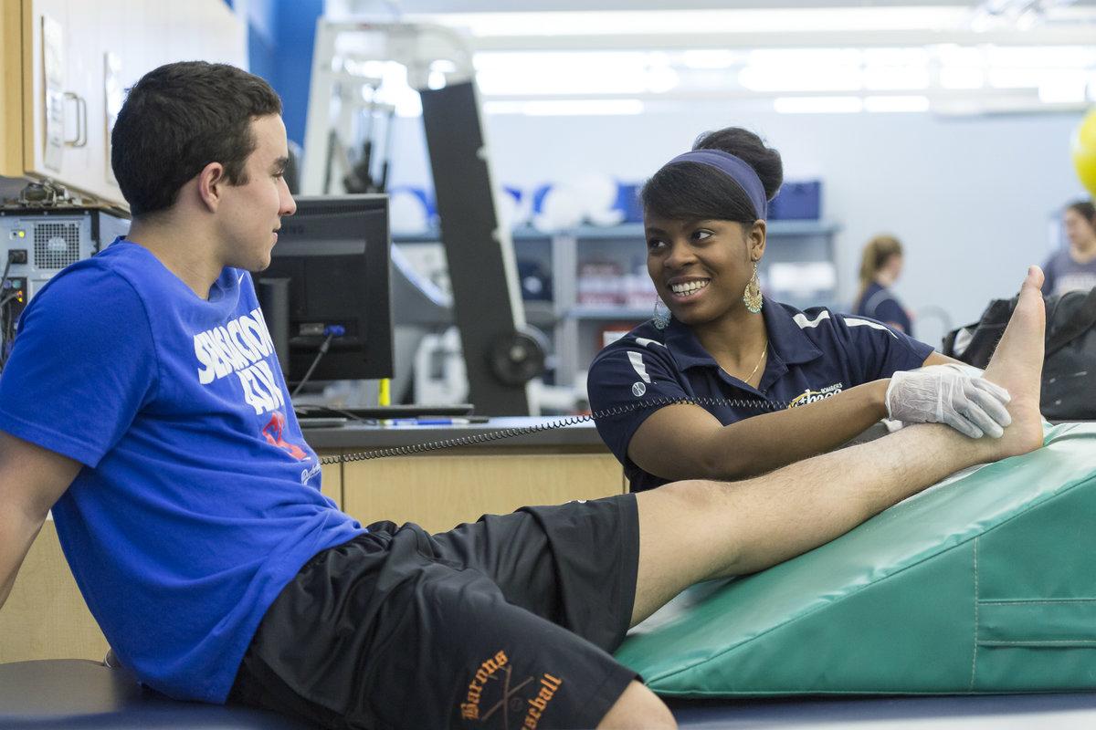 Athletic Training Program Builds Seven Year Passing Streak
