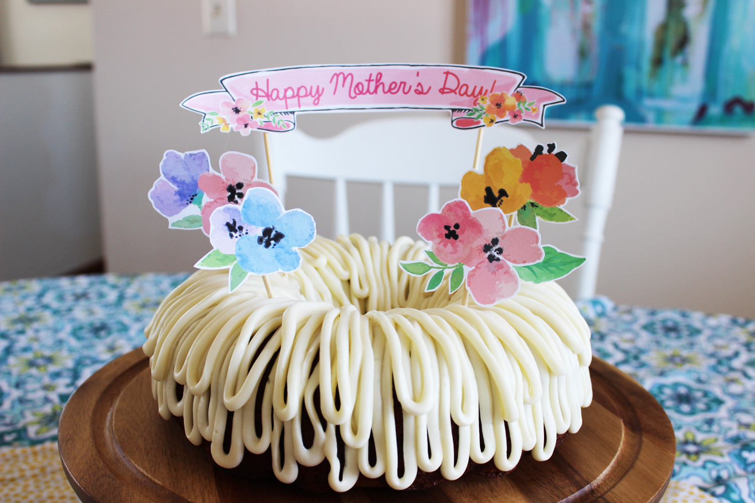 Top 5 Diy Mother S Day Cake Ideas All With Free Printable Toppers