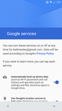 android restore term