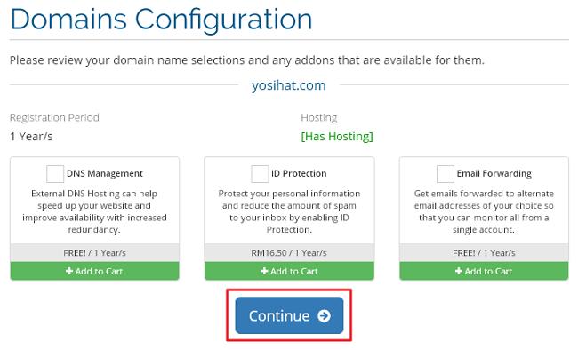 domain configuration shiftserver