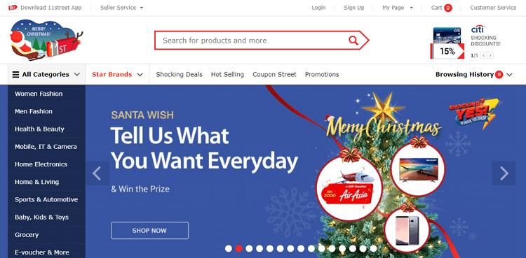 11street malaysia laman web online shopping malaysia