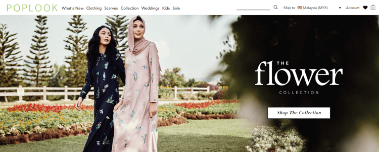 pop look website online shopping malaysia