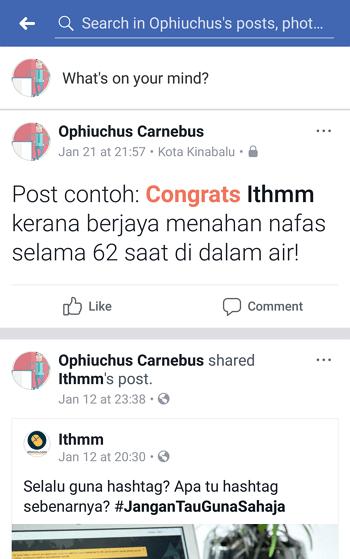 text delight facebook congrats