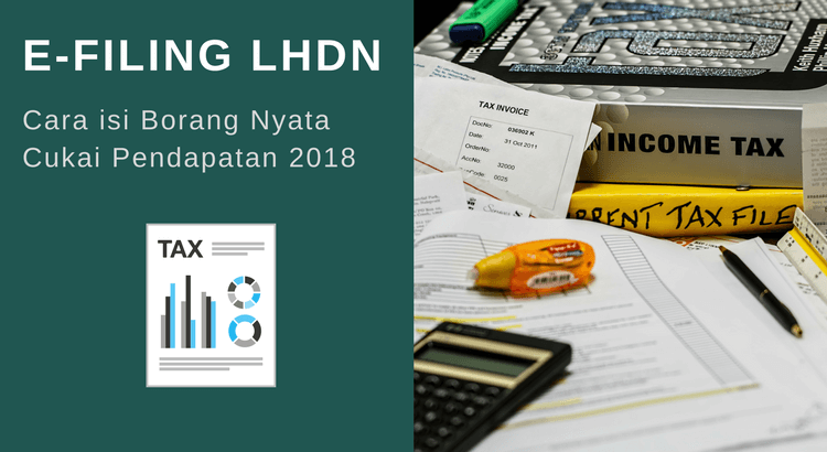 e-Filing LHDN: Panduan Mengisi Borang BE Secara Online 2019