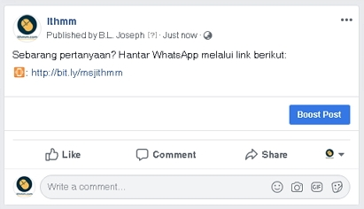 Cara Mudah Buat Link WhatsApp [Direct Link] Edisi 2019 - Ithmm