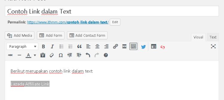 wordpress highlight text