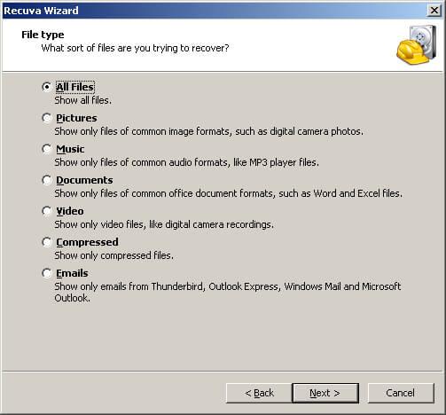 dapatkan semula fail terpadam guna software