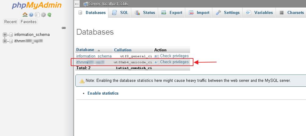 database laman anda