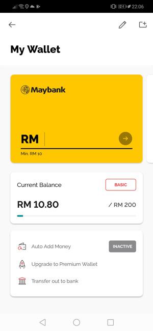 tambah duit boost bank maybank