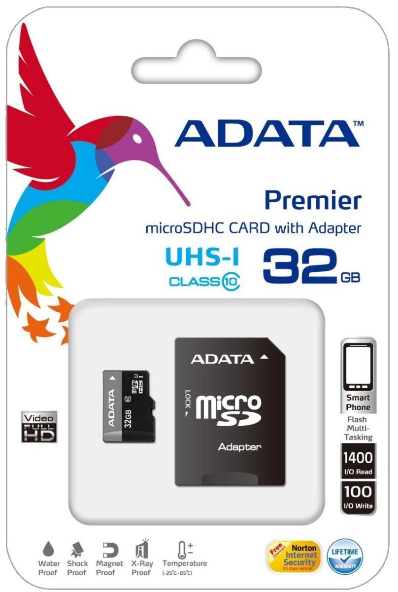 memoria-micro-sd-adata-32gb-ush-i-class-10-ultra-rapida