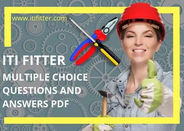 Iti Fitter Multiple Choice Questions Paper With Answers Pdf Itifitter