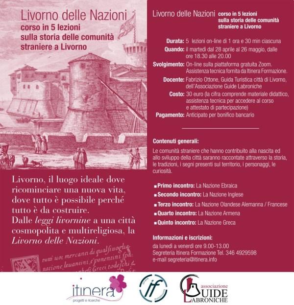 Livorno delle Nazioni: corso on-line