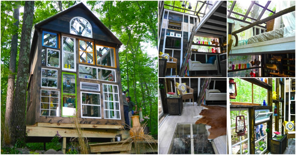 Glass House Is An Off Grid 140 Sq. Ft. Cozy Retreat by Tiny House Hub