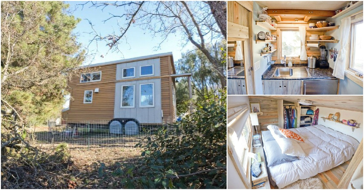 This is What a Tiny House Looks Like After It's Been Lived In!