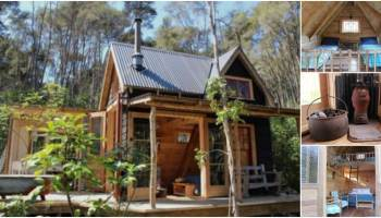 Surprising Tiny House Vacation Spend The Night In A Glass Tiny House Best Image Libraries Weasiibadanjobscom
