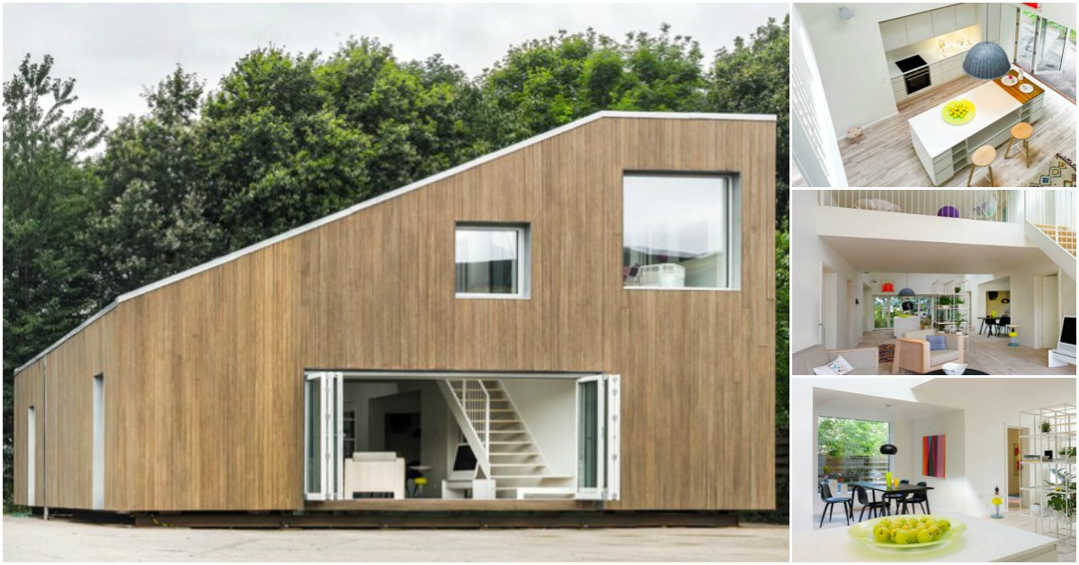 China Architects Design Adaptable Tiny House Base Made From Shipping Containers Tiny Houses