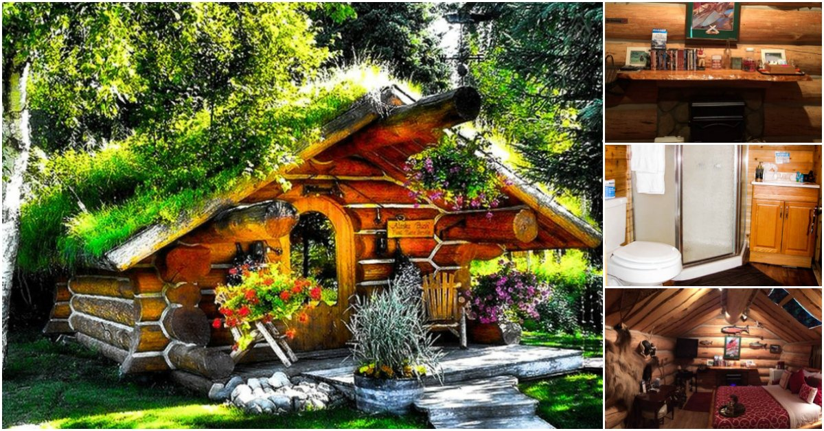 Another Hobbit-Style Tiny House Rental in Talkeetna, Alaska