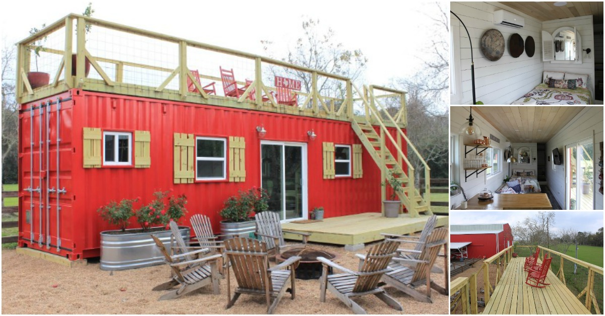 Backcountry Containers Co Designs Rustic Tiny Houses From Shipping Containers Tiny Houses