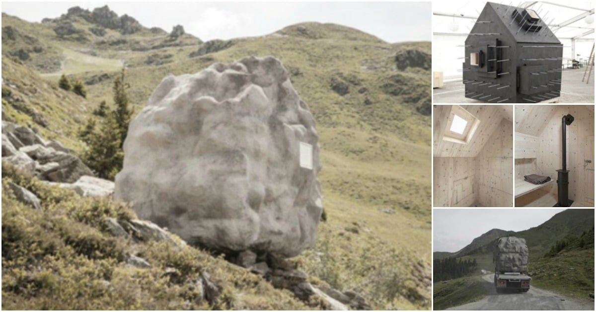 Nope, It's Not a Boulder … It's a Tiny House