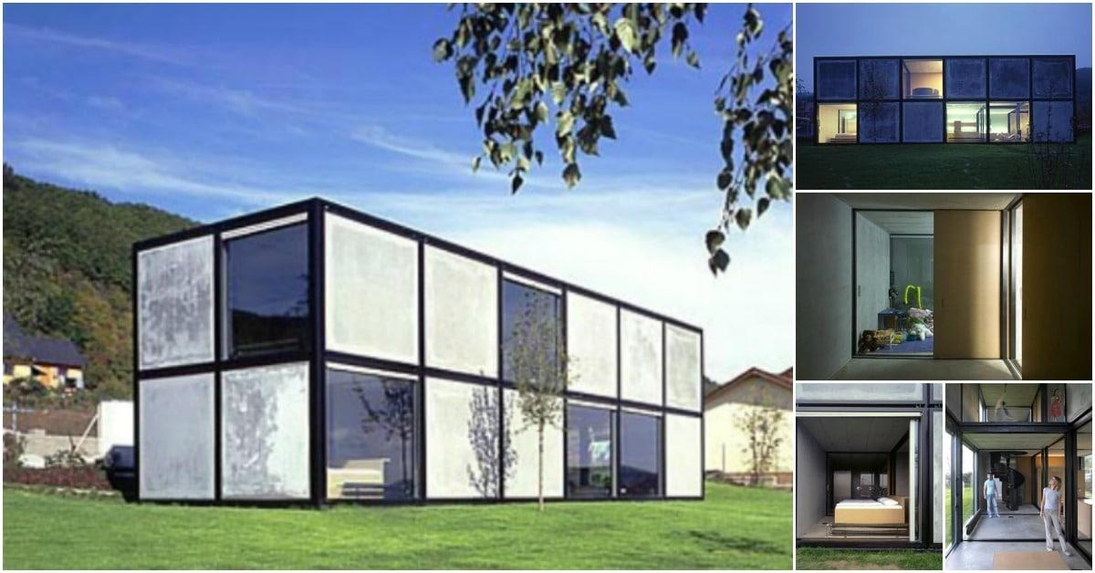 Villa in Beroun is a Brilliant Study in Geometric Design