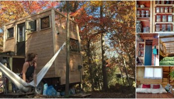 This Tiny House Looks Like a Train Car Straight Out of the Victorian