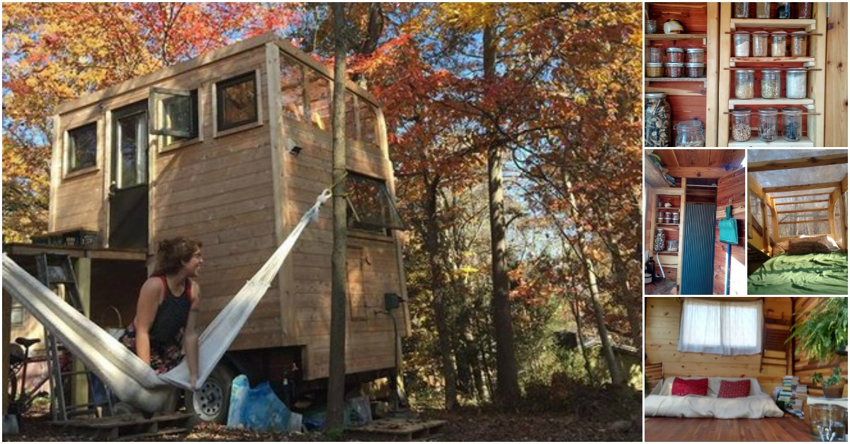 Check Out a Four Story Tiny House From Carpenter Owl
