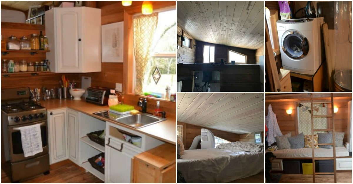 This Tiny House in Vancouver, WA, Is Perfect for a Small Family