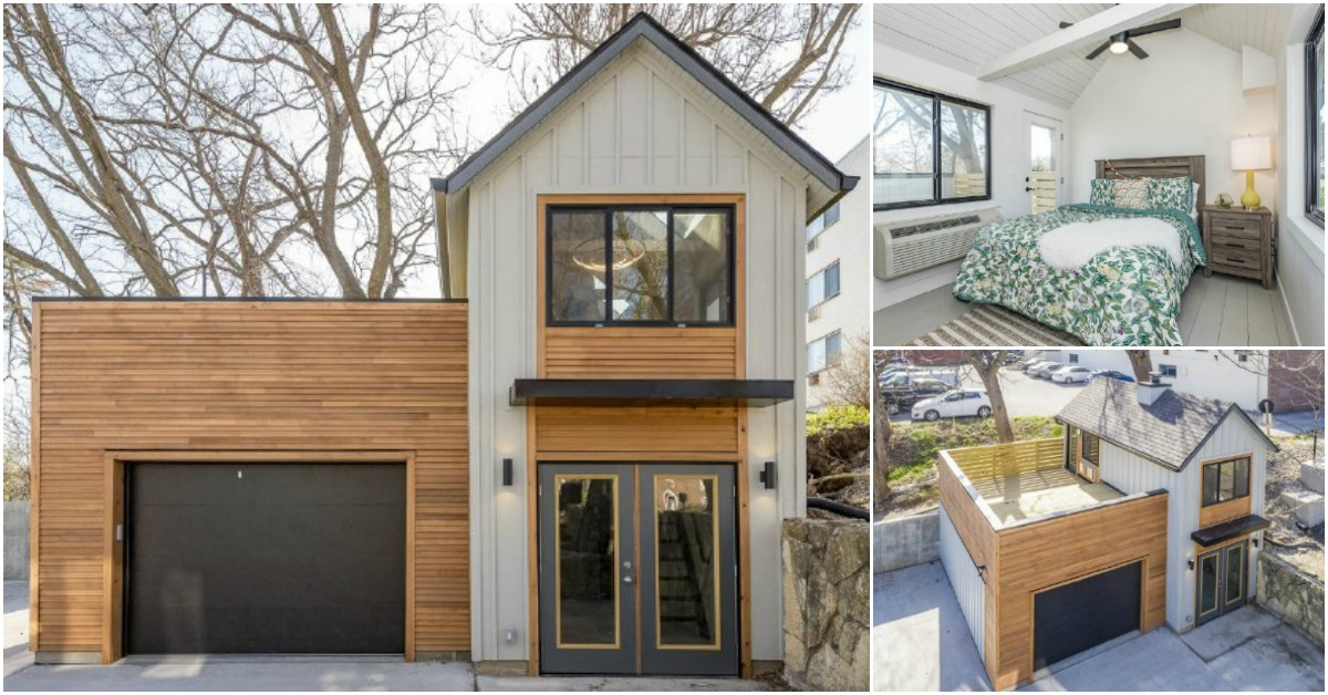 The Carriage House is a Unique Tiny Home from Zenith Design + Build