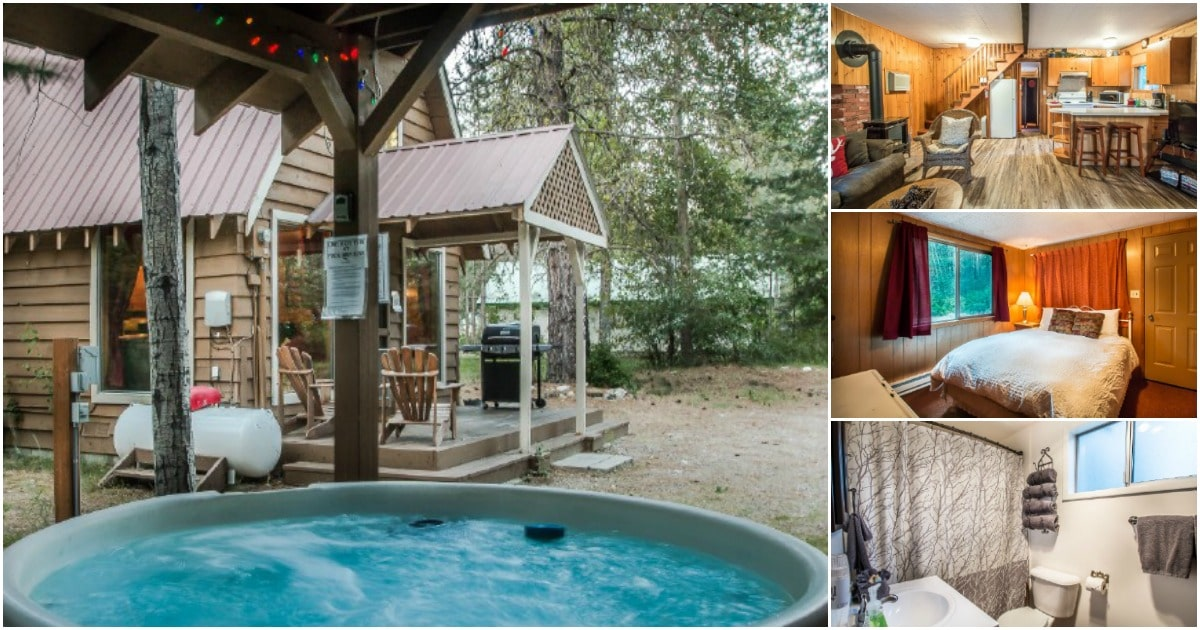 This Tiny Cabin in the Woods is a Storybook Adventure