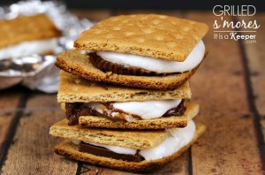 Grilled Smores - It's a Keeper CONTENT