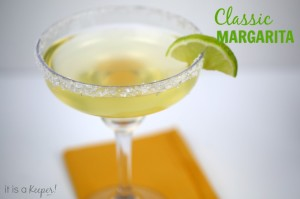 Simple Cocktail Recipes Classic Margarita - It Is a Keeper