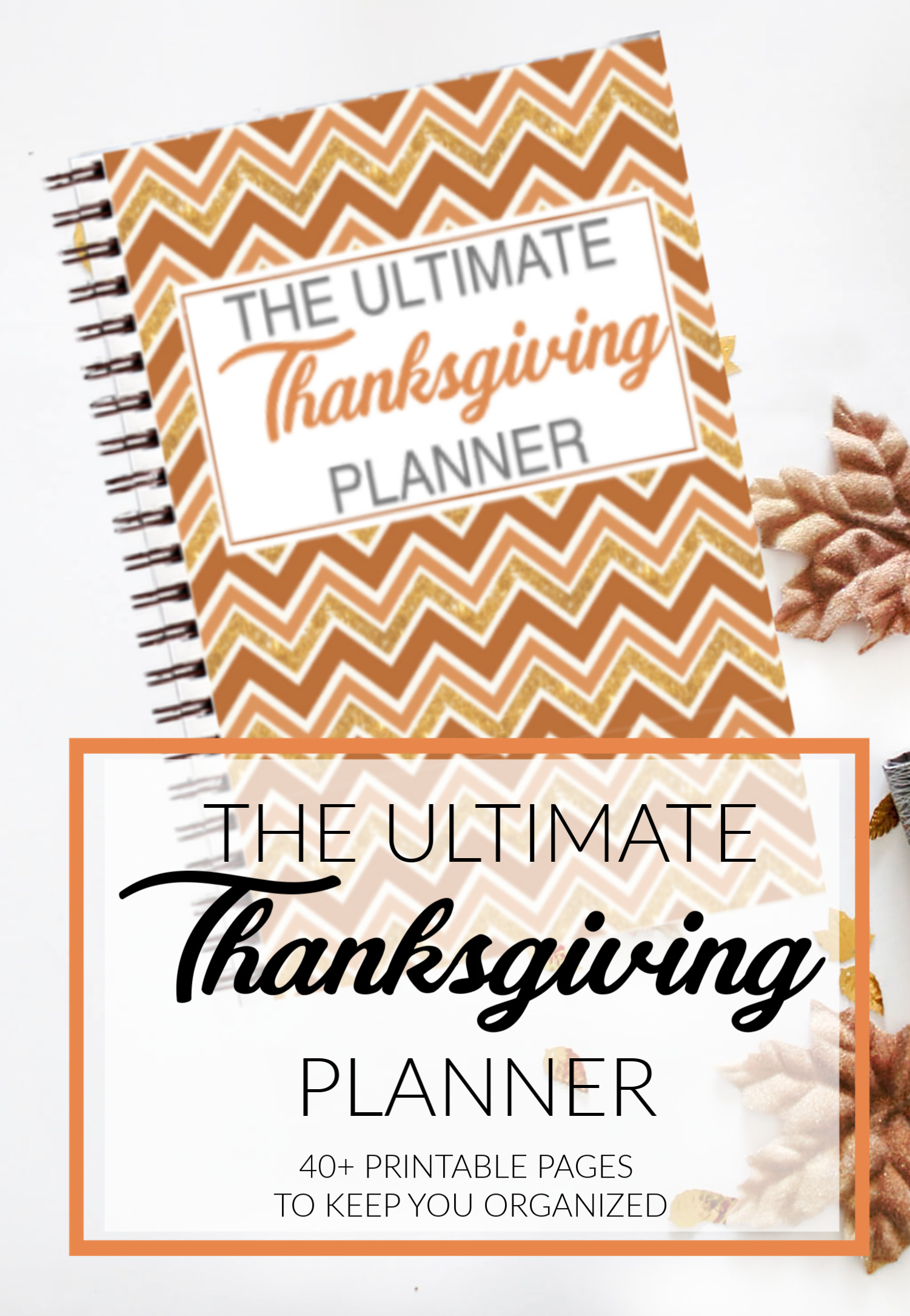 Thanksgiving Day Printable Planner