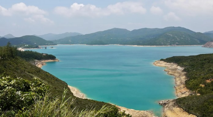 High Island Reservoir Full View (萬宜水庫全景)