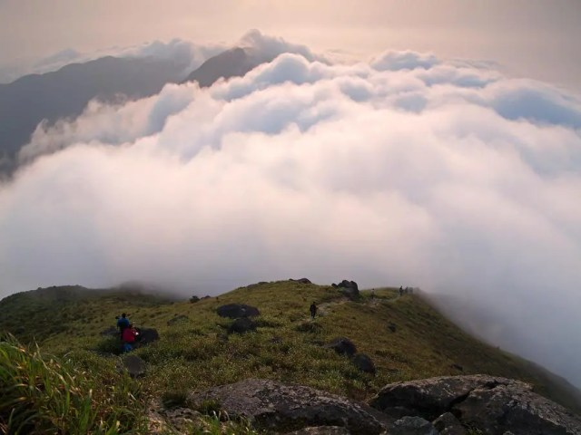 Sea of Clouds at Lantau Peak 鳳凰山雲海