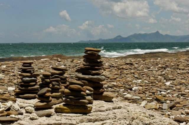 Mani Stones at Tung Ping Chau