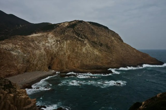 Hexagonal Volcanic Rock at Fa Shan, Sai Kung