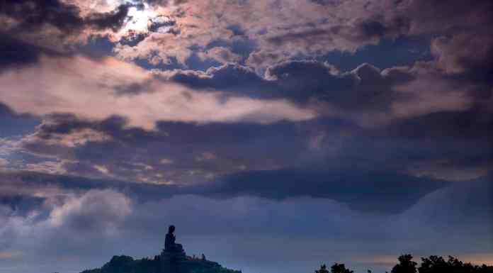 Tian Tan Buddha - Big Buddha, Ngong Ping, Lantau Island, HK