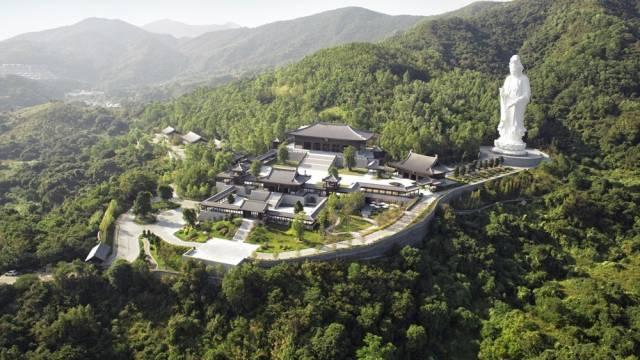 Bird View of Tsz Shan Monastery   慈山寺全景