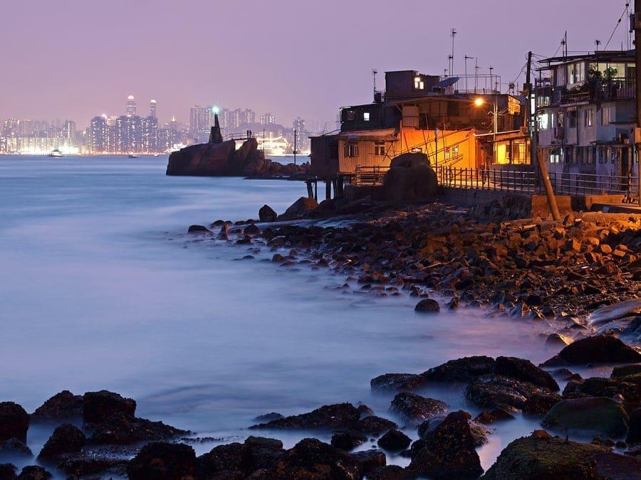 Lighthouse at Lei Yue Mun | 鯉魚門燈塔
