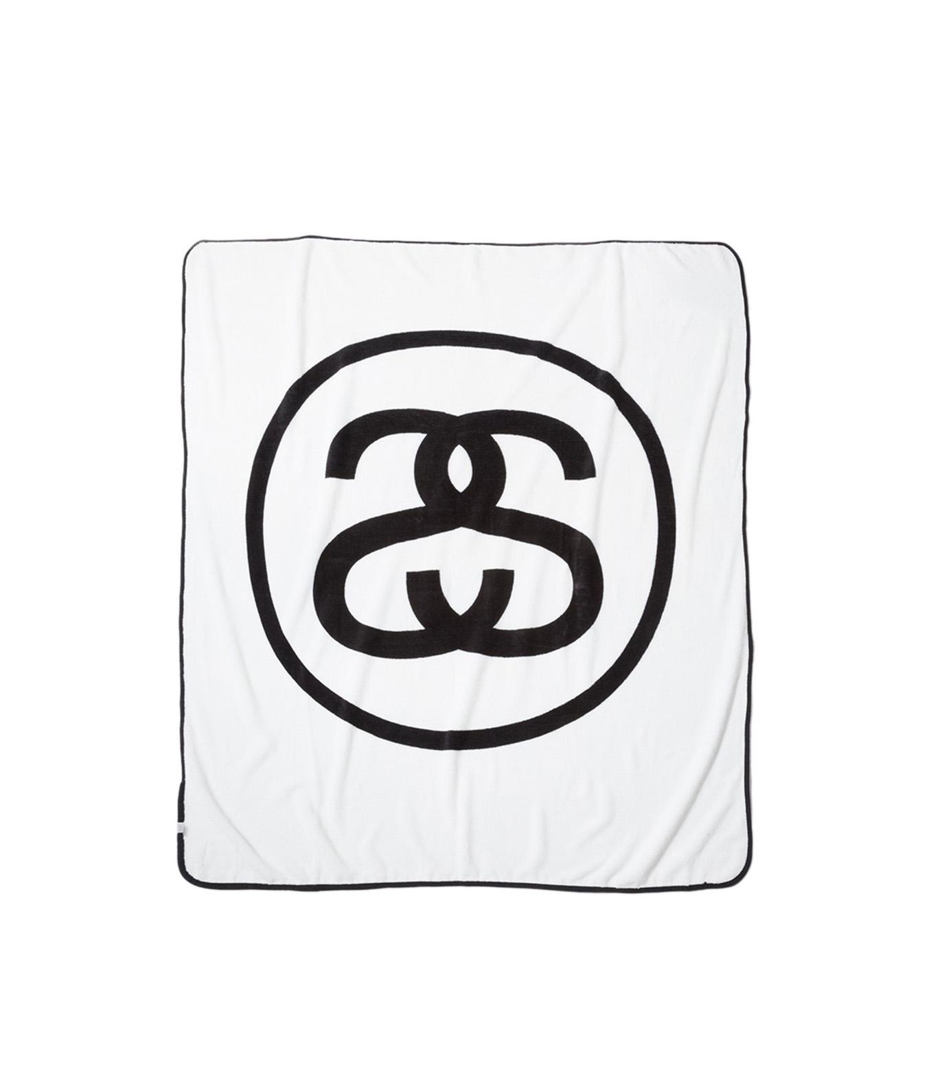 Shop Stussy Ss Link Fleece Blanket White At Itk Online Store