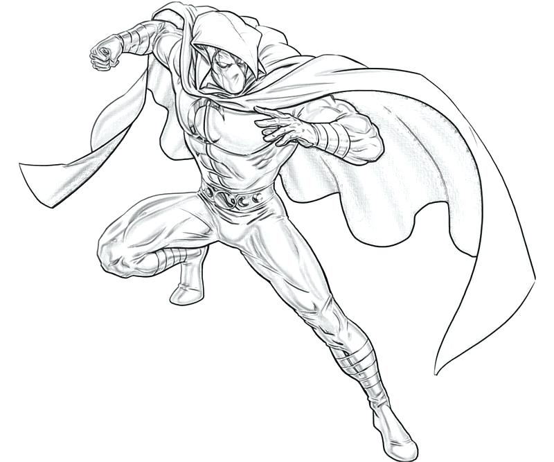 Knight Moon Knight Coloring Pages 1425452 Hd Wallpaper Backgrounds Download
