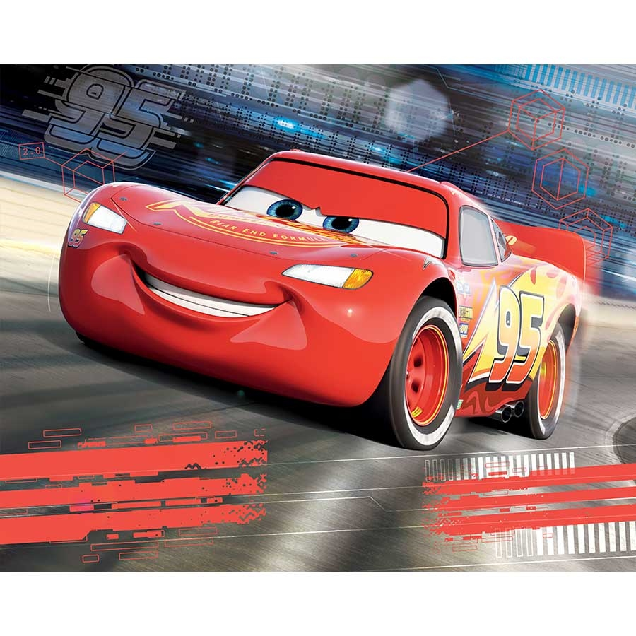 Sizing also makes later remov. Home Garden Disney Wallpaper Mural For Children S Bedroom Cars Race Red Photo Wallpaper Wallpaper Accessories