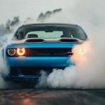 Downaload Dodge Challenger Hellcat Smoke Muscle Car Dodge Challenger Hellcat Wallpaper Iphone 1727986 Hd Wallpaper Backgrounds Download