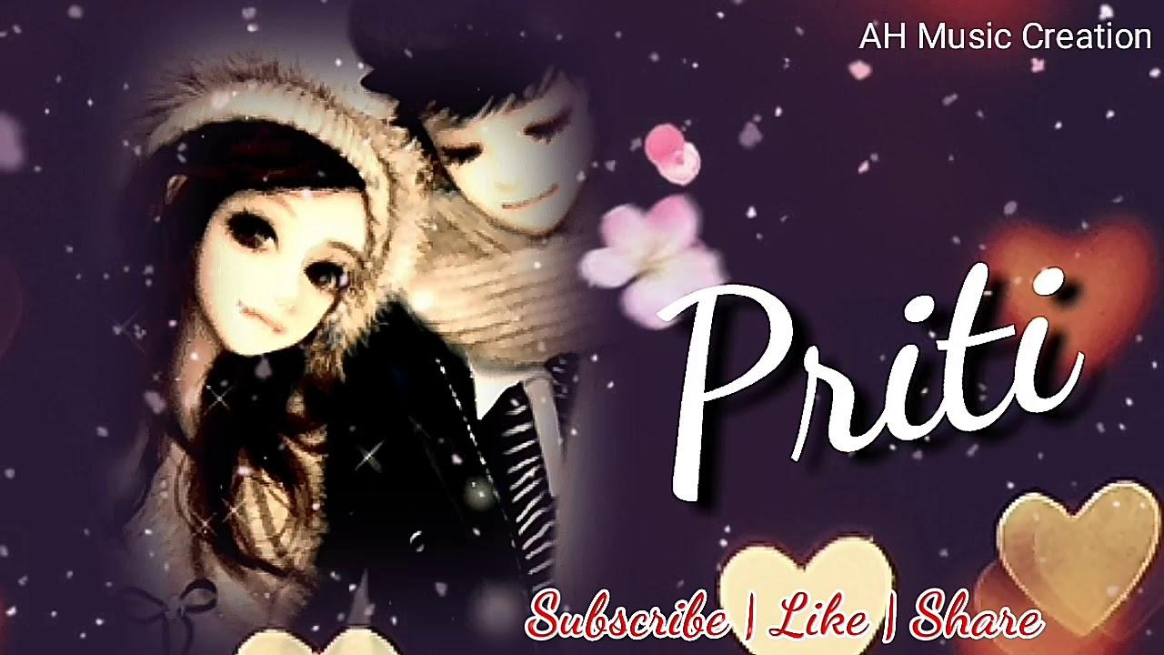 Priti Name Whatsapp Status Video Love You Priti Name 688052