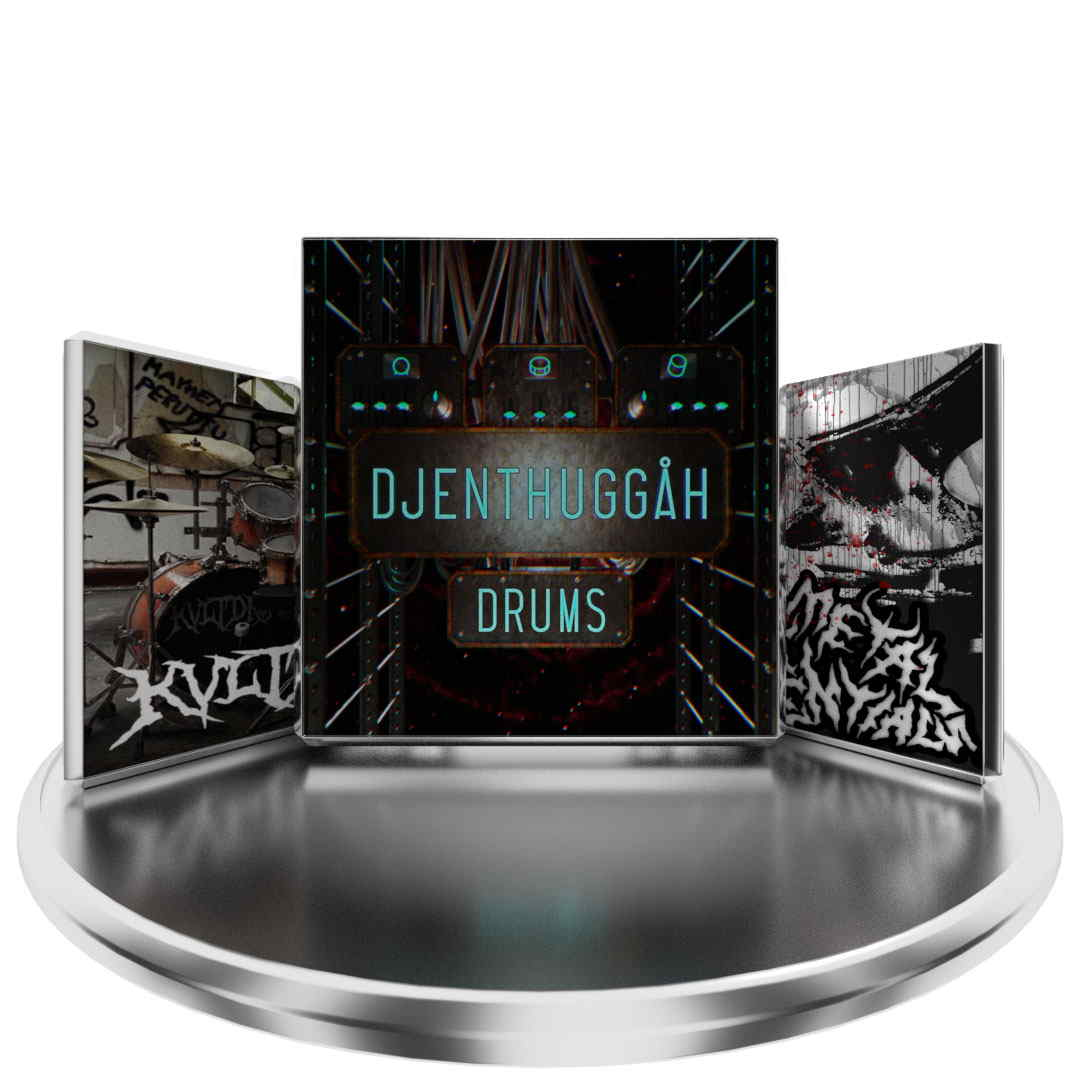 KVLT Drums + Black metal essentials + Djenthuggah Bundle!