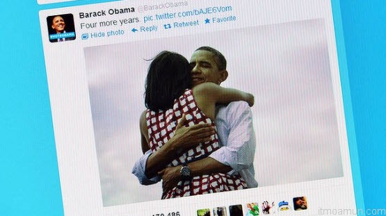 Barack Obama Twitter Four More Years