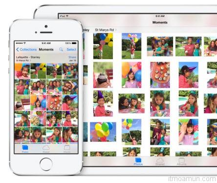 Photos บน iOS 8