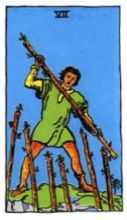 THE SEVENS OF WANDS