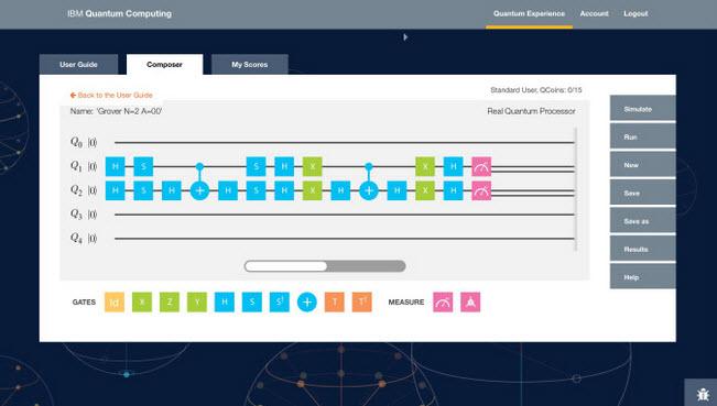 IBM Quantum Computing User Interface