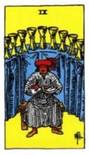 THE NINES OF CUPS